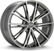 Фото диска OZ Racing ENVY 8x18 5/100 ET35 DIA 68 Matt Silver Tech D.C.
