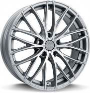 Фото диска OZ Racing ITALIA 150 7x17 4/100 ET42 DIA 68 MATT RACE SILVER DIAMOND CUT