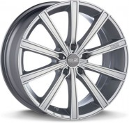 Фото диска OZ Racing LOUNGE 10 7.5x17 5/112 ET35 DIA 75 METAL SILVER DIAMOND CUT