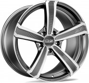 Фото диска OZ Racing MONTECARLO HLT 10x20 5/112 ET43 DIA 79 MATT DARK GRAPHITE DIAMOND CUT
