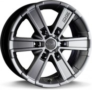 Фото диска OZ Racing OFF ROAD 6 7x17 6/139.7 ET45 DIA 92.3 METAL TITANIUM