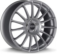 Фото диска OZ Racing SUPERTURISMO DAKAR 8.5x20 5/108 ET40 DIA 75 MATT RACE SILVER BLACK