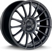 Фото диска OZ Racing SUPERTURISMO DAKAR 9.5x21 5/130 ET55 DIA 71.6 MATT GRAPHITE SILVER
