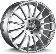 Фото диска OZ Racing SUPERTURISMO GT 7x17 5/114.3 ET40 DIA 75 RACE SILVER BLACK LETTERING