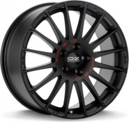 Фото диска OZ Racing SUPERTURISMO GT 8x19 5/112 ET35 DIA 75 MATT BLACK RED LETTERING