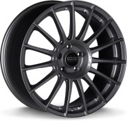 Фото диска OZ Racing SUPERTURISMO LM 7.5x18 5/100 ET48 DIA 68 MATT RACE SILVER BLACK
