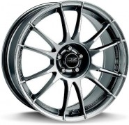Фото диска OZ Racing ULTRALEGGERA 8.5x20 5/130 ET55 DIA 72 MATT GRAPHITE SILVER