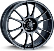 Фото диска OZ Racing ULTRALEGGERA 7.5x18 5/100 ET48 DIA 68 MATT GRAPHITE SILVER