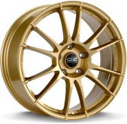 Фото диска OZ Racing ULTRALEGGERA 7.5x18 5/100 ET48 DIA 68 RACE GOLD