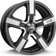 Фото диска OZ Racing VERSILIA 9x19 5/112 ET45 DIA 75 MATT BLACK DIAMOND CUT