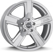 Фото диска OZ Racing VERSILIA 9x19 5/112 ET45 DIA 75 Matt Race Silver+Black Let