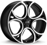 Фото диска OZ Racing WAVE 8x18 5/120 ET34 DIA 79 MATT BLACK DIAMOND CUT