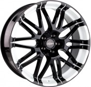 Фото диска Oxigin 14 Oxrock 8.5x18 5/112 ET35 DIA 72.6 black full polish