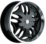 Фото диска Panther 330 9.5x22 5/114.3 ET20 DIA 83 Black Brushed