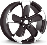 Фото диска Radius RS014 8x18 5/120 ET20 DIA 72.5 Matt Black