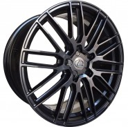Фото диска SSF-LEX LX1 9x21 5/150 ET38 DIA 110.1 Gloss Black Machined