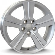 Фото диска SUBARU W2703 ORION 6.5x16 5/100 ET48 DIA 56.1 silver polished