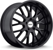 Фото диска TSW TREMBLANT 8x18 5/112 ET45 DIA 72 Gloss Black Mirror Cut Lip