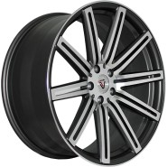 Фото диска VISSOL F-004 9x22 5/115 ET15 DIA 71.6 matte graphite machined