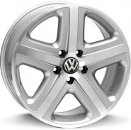 Фото диска VOLKSWAGEN W440 ALBANELLA 8x18 5/130 ET45 DIA 71.6 silver polished