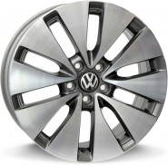 Фото диска VOLKSWAGEN W461 ERMES 6.5x16 5/112 ET42 DIA 57.1 ANTHRACITE POLISHED