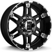 Фото диска XD Series XD797 8.5x18 5/127 ET18 DIA 78.1 Black/Machined