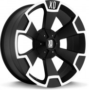 Фото диска XD Series XD803 9.5x22 5/139.7 ET35 DIA 110.1 Black/Machined