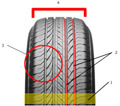 Ћетн¤¤ шина Bridgestone Ecopia EP850 215/70 R17 101H - фото 10