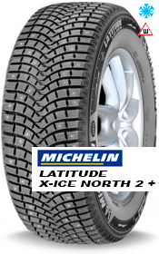 Зимние шины Michelin Latitude X-Ice North 2+ (LXIN2+)
