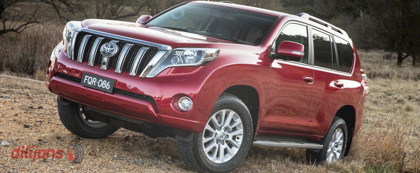 Диски для Toyota Land Cruiser Prado (Тойота Ленд Крузер Прадо)